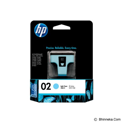 HP Light Cyan Ink Cartridge 02 [C8774WA] - Tinta Printer Hp